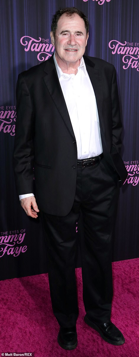 Nailed it: Richard Kind was well-dressed a classic suit jacket and a crisp white dress shirt, while Cherry Jones looked marvelous in an understated monochromatic ensemble