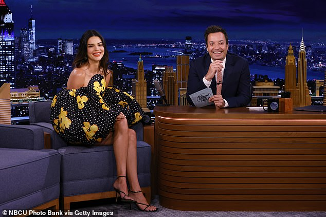 Gala attendees:Jimmy Fallon said he saw Kendall on Monday night at the Met Gala and then asked her how long it took her to get ready
