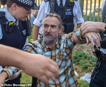 Roger Hallam left Extinction Rebellion to join offshoot Insulate Britain to urge residents to stop heat escaping from their properties