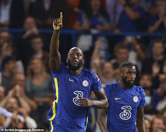Manager Thomas Tuchel admitted Romelu Lukaku is the type of player Chelsea were 'missing' last season when he led the Blues to a win over Zenit St Petersburg on Tuesday (above).