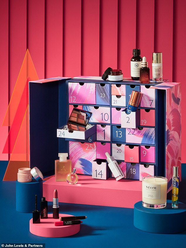 Launching on 4 October, this year's John Lewis Beauty Advent Calendar costs just £159 and features over £600 worth of products from skincare, makeup and fragrance brands including Augustinus Bader, Sunday Riley, Charlotte Tilbury and more Are included.