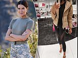 SAS Australia star Erin Holland swaps her combat boots for heels as she returns to work