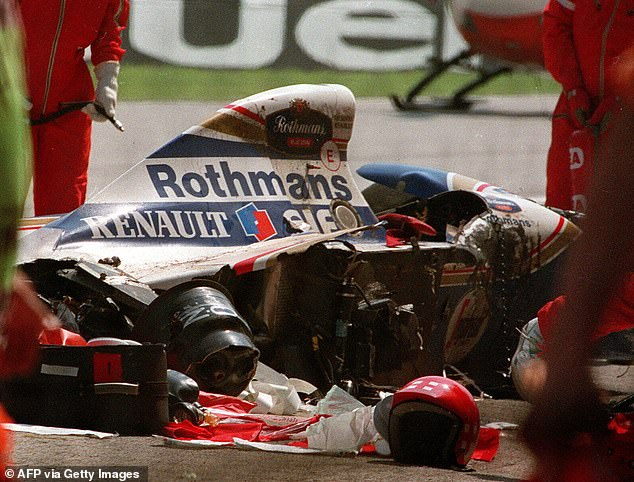 However, the legendary Brazilian died after crashing out at the 1994 San Marino Grand Prix