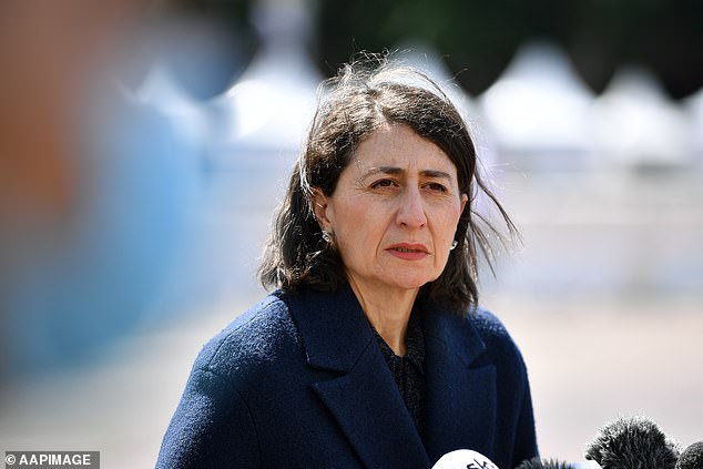 'We're feeling more and more confident that the dates we've previously assumed we might hit that double dose figure could actually be earlier,' Premier Gladys Berejiklian said on Wednesday