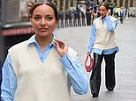 Jade Thirlwall looks chic after revealing she's yet to meetPerrie and Leigh-Anne babies
