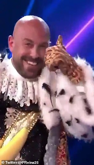 Pepe Reina was revealed as a contestant on the Spanish version of 'Masked Singer'