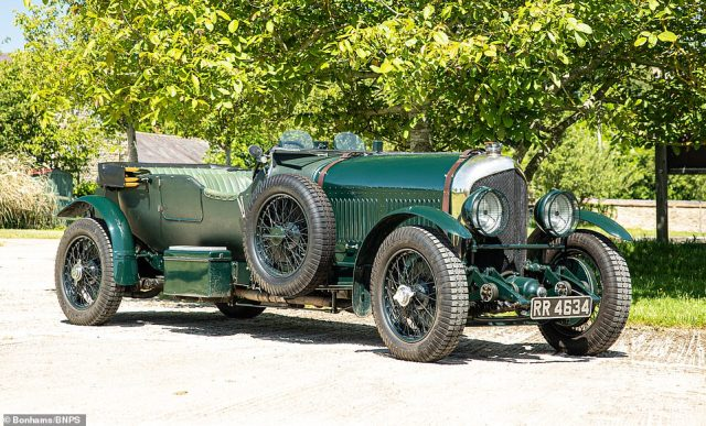 Thisclassic 1926 Bentley car owned by Pink Floyd's former manager Steve O'Rourke is tipped to sell for £600,000 at auction