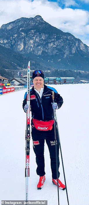 Since retiring he has become a keen skier