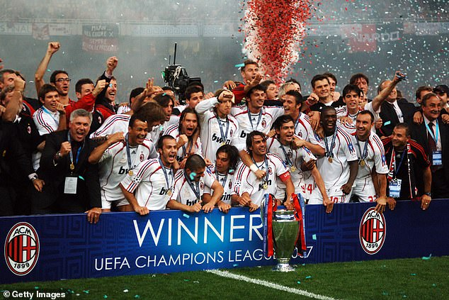Liverpool and AC Milan lock horns for the first time since the 2007 Champions League final