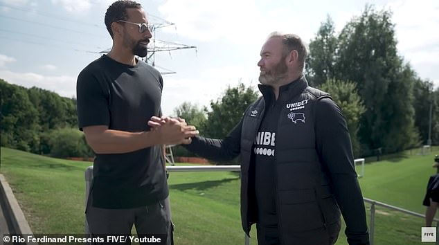 Rio Ferdinand insists Wayne Rooney the manager is the 'total opposite' to Wayne Rooney the player
