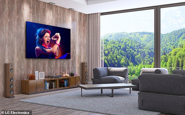 And adding to the luxury, each TV comes with a flight case, allowing users to take their spacious TV with them on vacation, should they so choose.