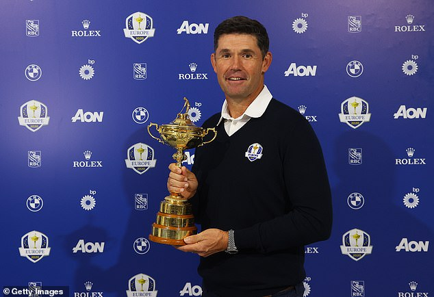 Padraig Harrington appointed Stenson following a phone call with the Swede on Monday