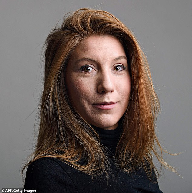 Madsen was jailed for life in 2018 for the gory murder of journalist Kim Wall, 30, (pictured) who boarded his homemade submarine for an interview in August 2017