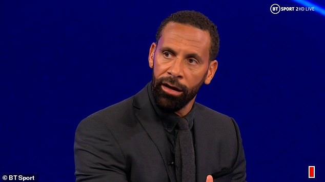 BT Sport pundit Ferdinand was one of many pundits critical of Jorginho in recent seasons