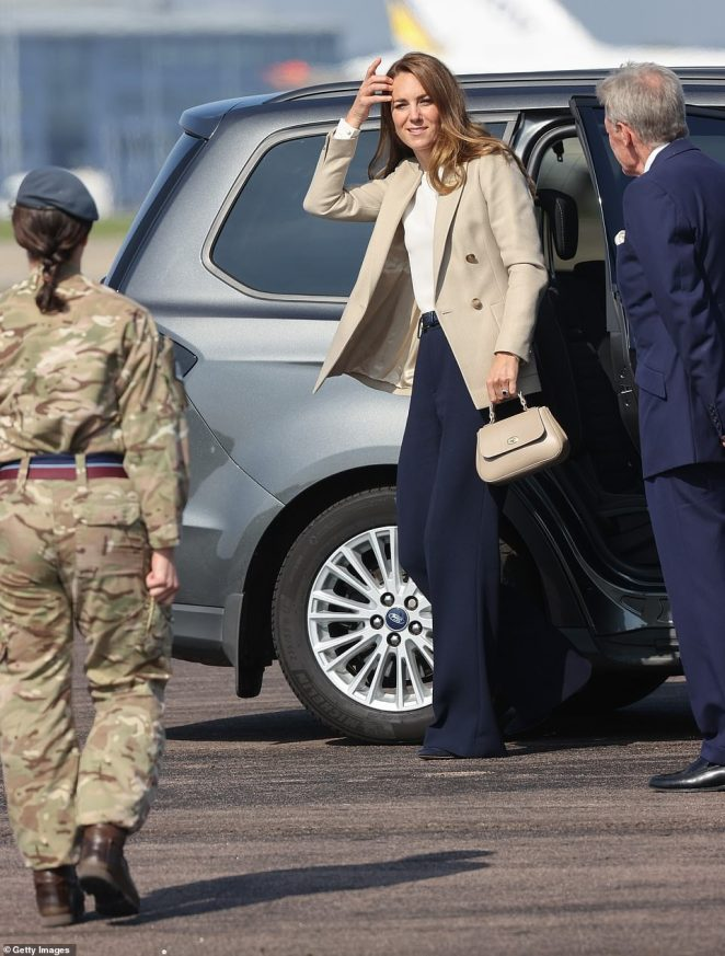 Kate arrives today to learn more about Operation Pitting, the largest humanitarian aid operation for over 70 years