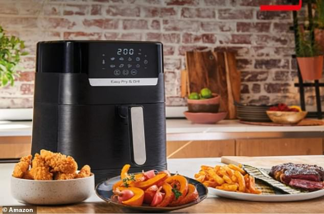 Tefal's EasyFry's clever air circulation design gives you deliciously crispy results with 99 per cent less added fat