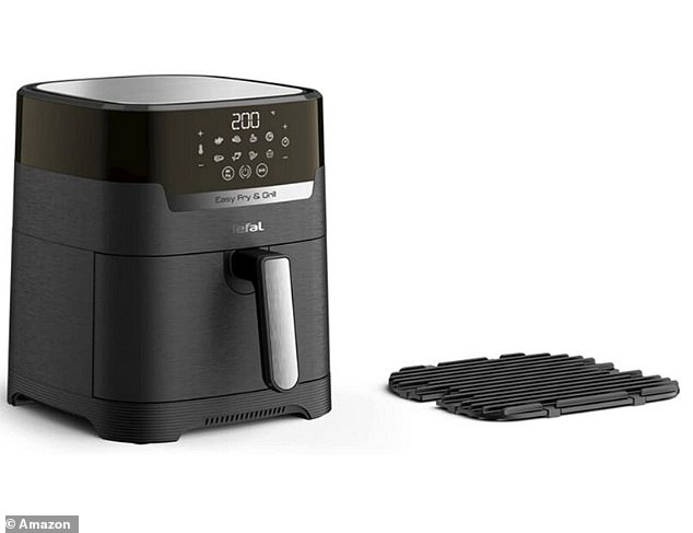 The EasyFry also has a handy 60-minute timer and an auto ready bell to tell you when your food is done to perfection