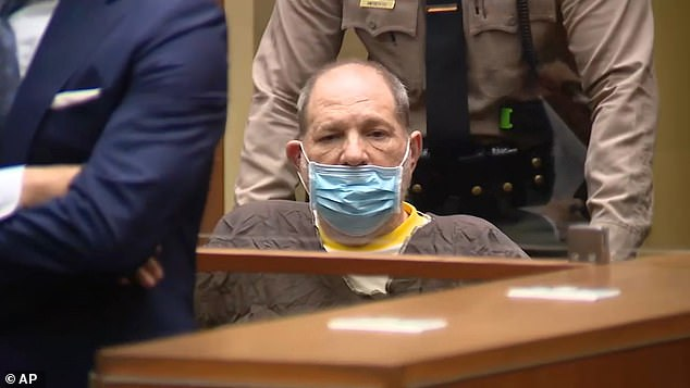 Weinstein was extradited to Los Angeles in July to face 11 counts of rape and sexual assault