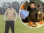 Rylan Clark-Neal posts rare Instagram posing on a football pitch