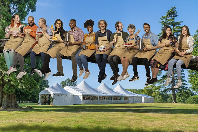 A baker's dozen!The line-up for The Great British Bake Off 2021 has been unveiled, ahead of the show's season 12 debut on September 21 on Channel 4 at 8PM [L-R: New stars Elizabeth, George, Juergen, Crystelle, Jairzeno, Rochica, Giuseppe, Tom, Maggie, Chirag, Amanda and Freya]