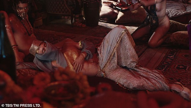 Scene: At one point, the actor is seen rolling around on the ground as his character performs with other dancers
