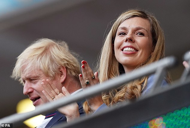 But Downing Street categorically rejected the suggestion that Mr Johnson had consulted his wife about ministerial appointments