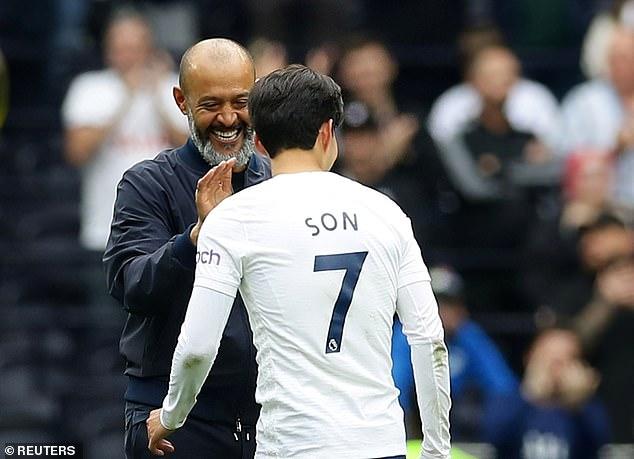 Son's return provides a much needed creative boost for Nuno Espirito Santo's (left) side