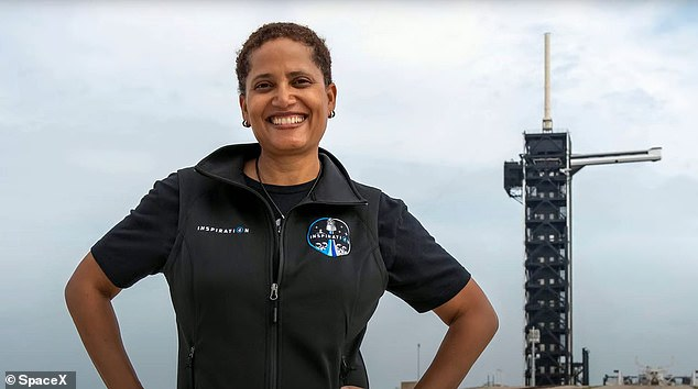 Proctor will also be the fourth black women in space, which she said during an interview means she has an 'opportunity to not only accomplish my dream, but also inspire the next generation of women of color.'