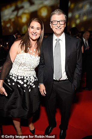 Split: Bill and Melinda (pictured in 2018) shocked the world when they announced that they were divorcing earlier this year