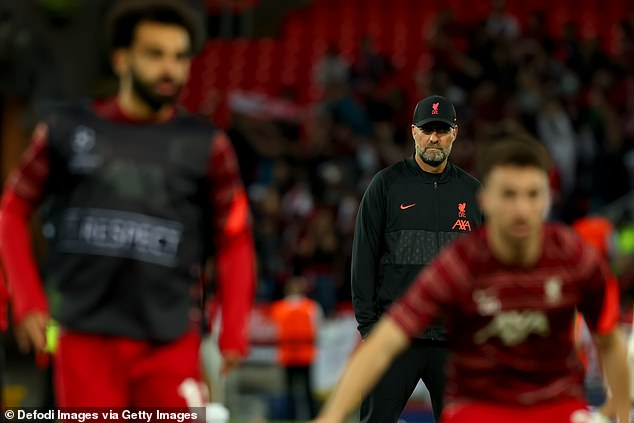 Manager Jurgen Klopp does not have adequate backup for the front three - all 29 - aside from perhaps Diogo Jota, 24, with doubts remaining over Takumi Minamino and Divock Origi
