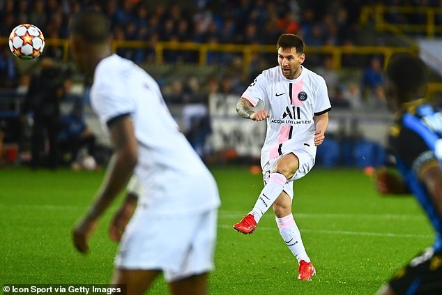 Lionel Messi struggled to make an impact on his first Paris St-Germain start