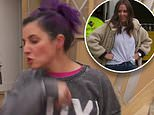 The Block's Tanya Guccione storms off during a heated argument with Ronnie and Georgia Caceres