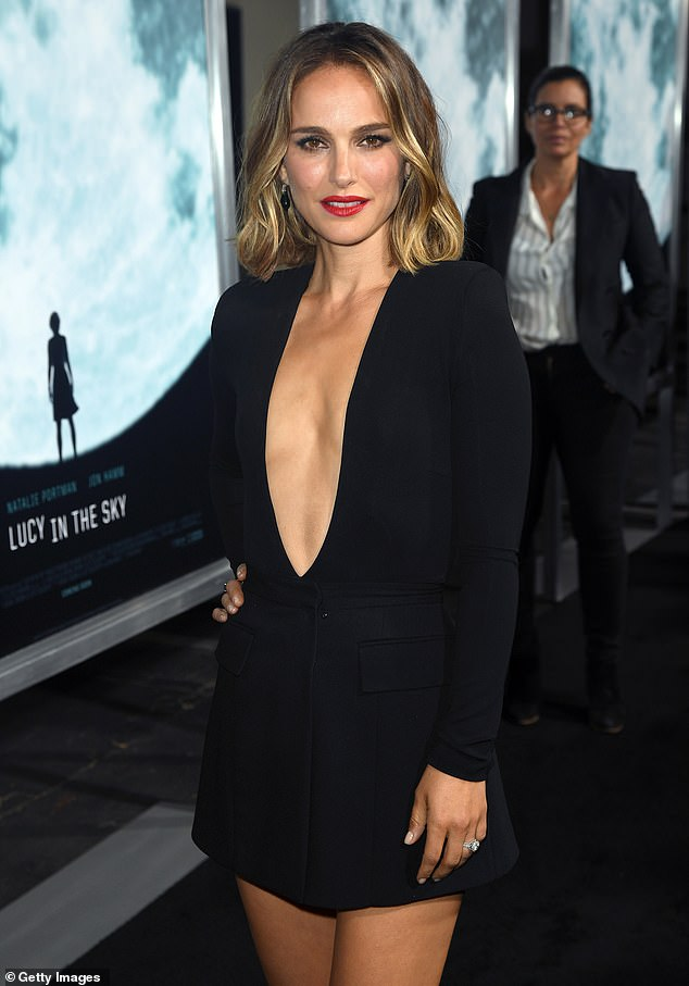 Hollywood abandons Australia: Multiple film and TV productions have left the country due to endless lockdowns, border restrictions and Covid-zero premiers. Pictured: Natalie Portman, who left Australia in August after pulling out of her film Days of Abandonment