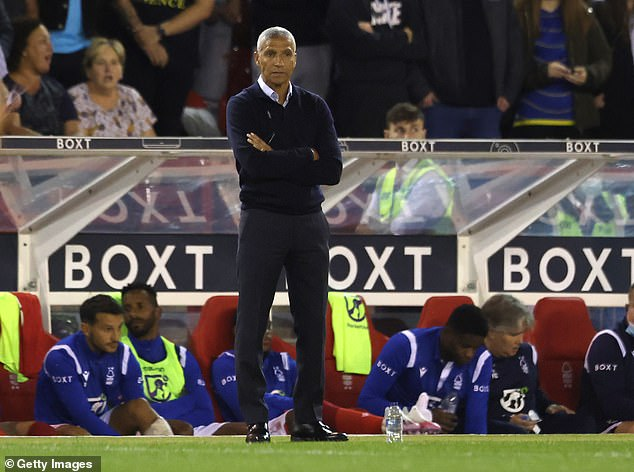 Chris Hughton's Nottingham Forest have picked up just one point from seven matches