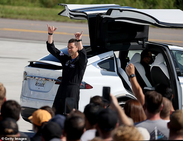 Jared Isaacman, the mission's commander, is funding the trip in a private deal with SpaceX