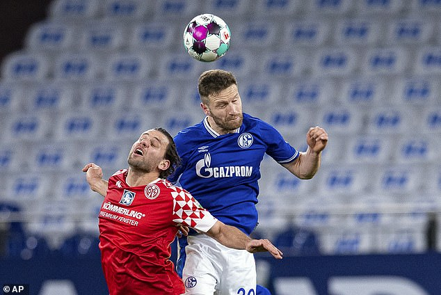 The much-maligned defender played 13 times for the Gelsenkirchen side as they went down
