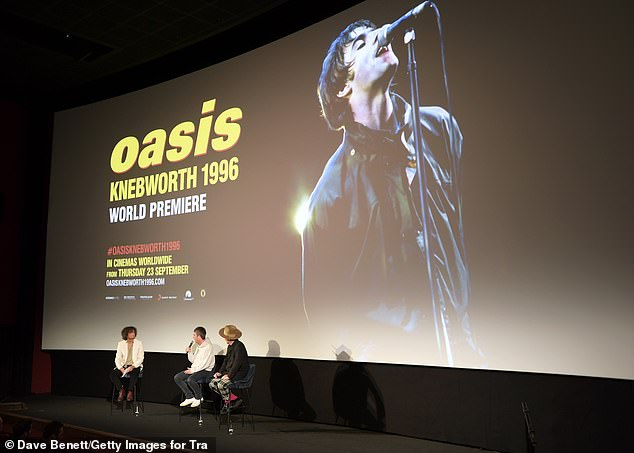 Big stage: Noel had a huge career with his brother Liam and Oasis in the 90s and early noughties before they went their separate ways in 2009