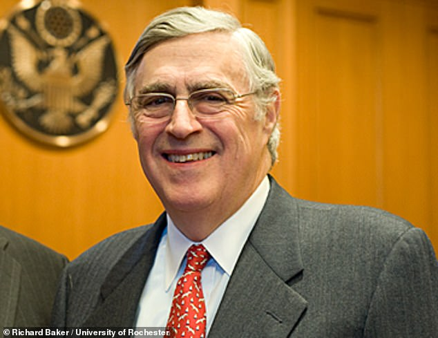 District Judge Lewis Kaplan in Manhattan (pictured) didn't matter whether the Duke of York had 'authorised' a lawyer to accept him