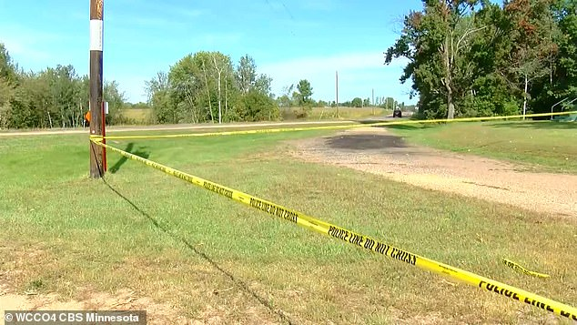 Presley, 30, Matthew Pettus, 26, Lois Foreman III, 35, and Jasmine Christine Sturm, 30, were found dead inside a car at a farm in Sheridan, rural Wisconsin, on Sunday afternoon.  taped scene featured