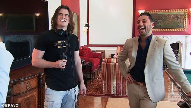 Different Styles: The brokers met at the Beverly Park home with Josh's videographer Ben and shot a video highlighting their different styles.