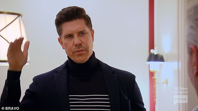 Registration Meeting: Million Dollar Listing Los Angeles opened with Fredrik Eklund during a registration meeting with Seller Representative Yuri in the Beverly Park neighborhood