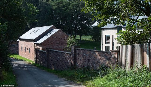 The mega star reportedly left because he was being kept awake by bleating sheep, although neighbours say he may have had privacy concerns because it is possible to look into one of the bedrooms from a public footpath running next to the property