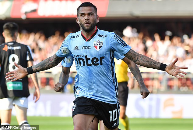 Alves must now look for a new club - with Boca Juniors and River Plate among those interested