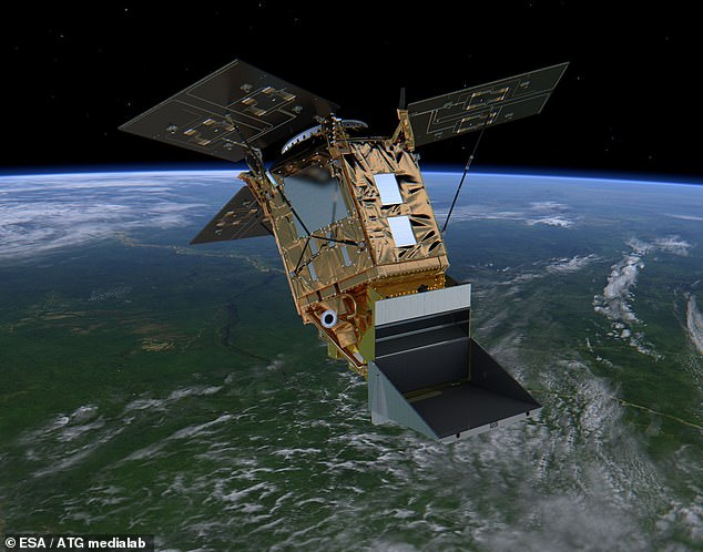 Measurements from the Copernicus Sentinel-5P satellite (pictured) showed that last year's hole was the largest in recent years – reaching about 9.7 million square miles in area.