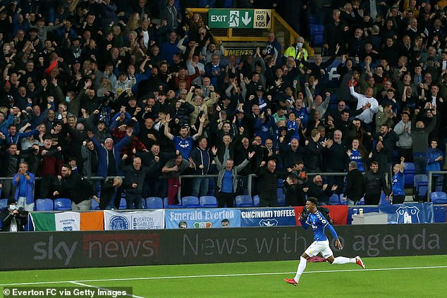 Goodison Park was the place to be on Monday night as Gray blew the roof off the old ground