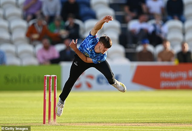 Sussex's George Garton has shone in 2021 and is closing in on a well-deserved England debut