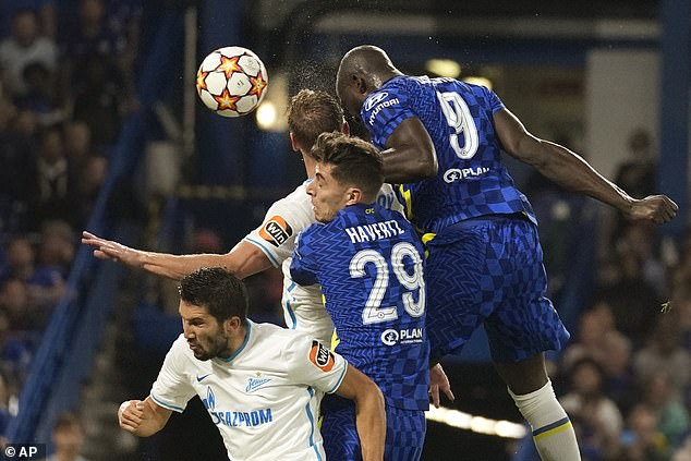 The £98million summer signing scored as Chelsea beat Zenit 1-0 in the Champions League