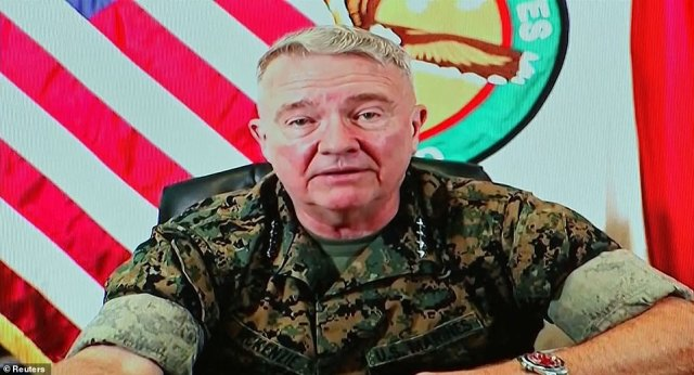 'It was a mistake and I offer my sincere apology,' Head of US Central Command Gen. Frank McKenzie said