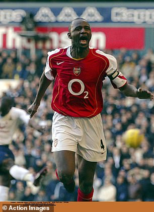 Vieira is one of the Premier League's all-time greats and was a formidable, fearsome midfielder as a player