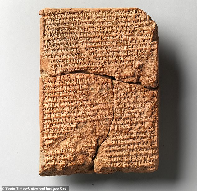 A deep-thinking AI system called the Babylonian Engine is able to scan a damaged cuneiform tablet and predict relevant precise words and phrases to fill in the missing parts.